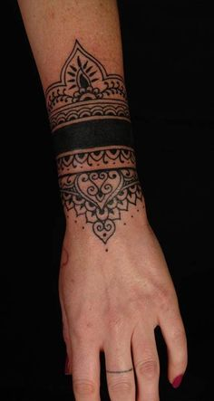 wrist band cover up tattoos for women - Google Search