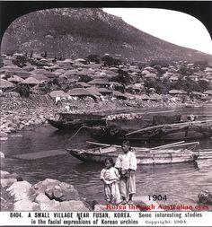 부산항 전경. 사진출처 : 대한민국 정부기록 사진집. 촬영일