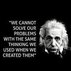 "Einstein on problem solving. Need my ""Einstein-a-day"" =) Life Quotes Love, Wise Quotes, Quotable Quotes, Great Quotes, Quotes To Live By, Inspirational Quotes, Motivational Quotes, Famous Quotes, Wise Sayings"
