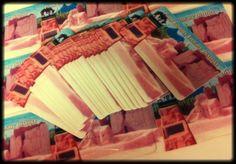 SO MANY library cards!
