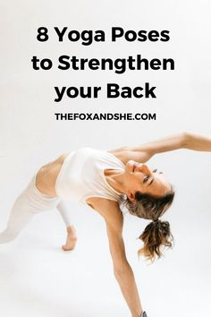 Heart Opening Poses to Strengthen Your Back - Fox Wellness Tips, Health And Wellness, Health Fitness, At Home Workout Plan, At Home Workouts, Yoga Sequences, Yoga Poses, Fitness Tips, Fitness Motivation
