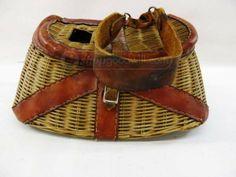 shopgoodwill.com: Antique Fishing Creel Basket