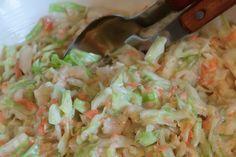 Coleslaw ist in den USA eine typische Beilage zum BBQ oder dem Klassiker Pulled Pork. Wir zeige euch heute eine Variante aus Spitz anstatt Weisskohl.