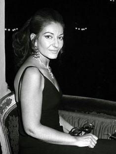 Portrait of Maria Callas, 1970