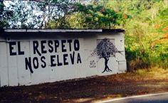 El respeto nos eleva  #muros #lavidaesarte