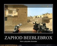 ZAPHOD BEEBLEBROX