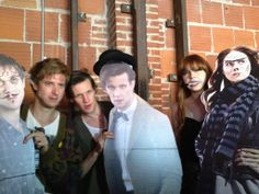 Arthur Darvill, Matt Smith and Karen Gillan being adorable where can I find that cardboard cutout of Matt Smith? I need a prom date.<<<<<<< Why on earth would you take Matt over Arthur! Arthur Darvill is the best! Arthur Darvill, Rory Williams, Karen Gillan, Amy Pond, Don't Blink, Eleventh Doctor, Matt Smith, David Tennant, Dr Who