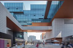 Image 16 of 29 from gallery of SND Cultural & Sports Centre / Tianhua Architecture Planning & Engineering Ltd.. Photograph by Arch-Exist