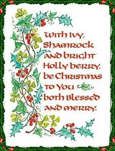 260 best Irish Christmas! images on Pinterest in 2018 | Merry little ...