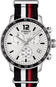 Tissot Watch Quickster Chronograph #basel-15 #bezel-fixed #bracelet-strap-synthetic #brand-tissot #case-depth-10-72mm #case-material-steel #case-width-42mm #chronograph-yes #date-yes #delivery-timescale-call-us #dial-colour-silver #gender-mens #luxury #movement-quartz-battery #new-product-yes #official-stockist-for-tissot-watches #packaging-tissot-watch-packaging #style-sports #subcat-quickster #supplier-model-no-t0954171703701 #warranty-tissot-official-2-year-guarantee #water-resistant-100m