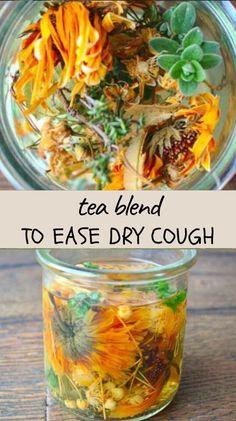 Healing Herbs, Medicinal Herbs, Herbal Remedies, Natural Remedies, Tea For Cough, Best Herbal Tea, Herbal Teas, Homemade Tea, Herbs For Health