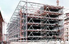 structural drawings centre pompidou - Поиск в Google