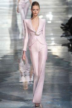 The shoulder. the pants. the blazer. LOV!  Armani Prive.