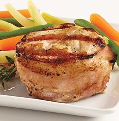 M&M Bacon Wrapped Chicken - 5 pts