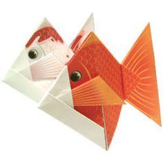 きんぎょ - 折り紙 - アートキヤノン クリエイティブパーク