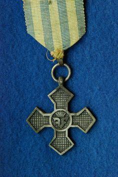 """Commemorative Cross of WWI 1916-1918"", Romania - Europeana 1914-1918 CC-BY-SA Military Decorations, Wwi, Romania"