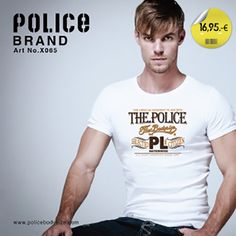 Marca Police Trademark Police Camiseta CPUx065 T-shirt CPUx065  #moda #goodlook #fashion #pittiuomo #eyewear #shabby #collection #chic #colori #colors #style #Camiseta #tshirt #streetwear #wear #ropa #man #unisex #hombre #design #diseño #streetstyle #tendencias #team_moxkito #trends #stylish #cute #pretty #styles #shopping