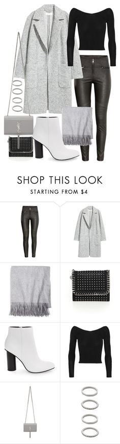 """Untitled #22143"" by florencia95 ❤ liked on Polyvore featuring H&M, Sofiacashmere, STELLA McCARTNEY, Steve Madden, Ballet Beautiful, Yves Saint Laurent and Forever 21"