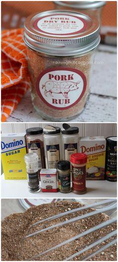 Pork Dry Rub Recipe