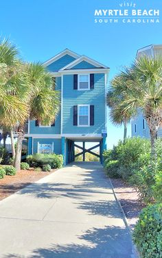 Enter for a chance to win the 2020 Beach House Giveaway. You could win 7 Days at a Beach House in Myrtle Beach, SC. Future House, My House, Beautiful Homes, Beautiful Places, Myrtle Beach Sc, House Goals, Beach Cottages, Coastal Living, Oh The Places You'll Go