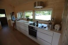 Bilderesultat for rindalshytter Prefab Cabins, Mansions, Building, Kitchen, Home Decor, Prefabricated Cabins, Prefab Cottages, Cooking, Decoration Home