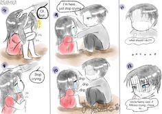 やんくろねこ Attack On Titan Funny, Attack On Titan Anime, Eren X Mikasa, Armin, Seshomaru Y Rin, Otp, Rivamika, Eremika, Akame Ga