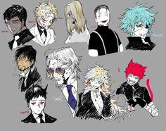 Monster mafia OC's doodle