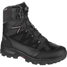 Salomon - Chalten TS CS Waterproof Boot - Men's - Black/Asphalt/Pewter