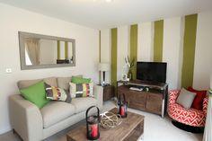 Living Room at Plumlife Development - Great Stone Gardens, Stretford.