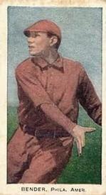 1910 Standard Caramel E93 #2 Chief Bender Front