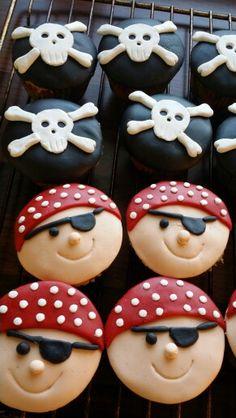Pirat cupcakes