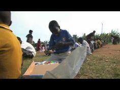 Uganda Boy Rips Into His Shoebox-Operation Christmas Child