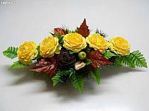 Funeral Flowers, Gerbera, Ikebana, Decoupage, Centerpieces, Floral Wreath, Bloom, Wreaths, Diy