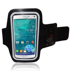 Amazon.com: Samsung Galaxy NOTE 4, Note 3 & Note 2 Running Armband With Adjustable Velcro Band & Key Holder: Cell Phones & Accessories