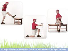 Golf stretches for a more fluid swing
