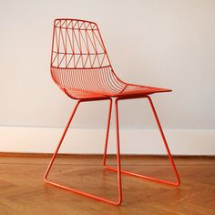 Lucy Side Chair Orange, now featured on Fab. Geometric Furniture, Funky Furniture, Solid Wood Furniture, Furniture Design, Bend Goods, Contemporary Dining Chairs, Minimalist Decor, All Modern, Decoration