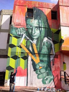 Amazing Street Art By Xav Amazing Street Art Street Art And Street - Spanish street artist transforms building facades into amazing artworks