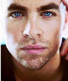 Chris Pine--- His eyes!