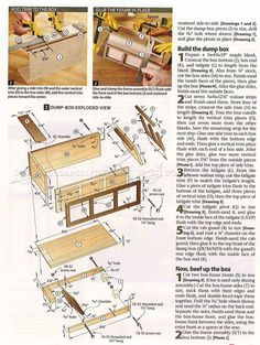 #408 Wooden Truck Plans - Wooden Toy Plans