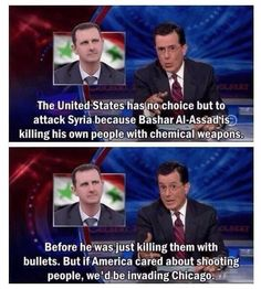 Chicago and Syria