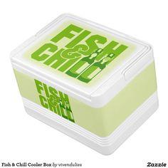 Fish & Chill Cooler Box