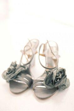 Rosette heels