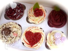 Luxury Cupcake Giftbox by kissmycake.co.uk