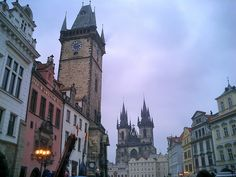 The Short and the Sweet of It: Prague
