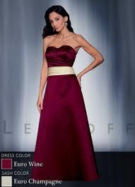 Add crystal straps and shorten=bridesmaid dress.  Crystal, Wine & Champagne = my colors