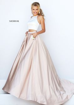 Sherri Hill 50219 Love this skirt! Would love to have a black top with it