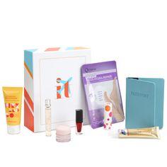 ITSET BOX N°6 Beauty is in the air  ! Pour vos escapades, embarquez cette box dans laquelle se niche 8 produits de beauté !