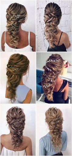 Stunning Wedding Hairstyles from - Forevermorebling Wedding Blog, Wedding Day, Vetement Fashion, Updos, Wedding Hairstyles, Take That, Dreadlocks, Hair Styles, Inspiration