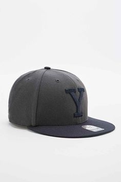 47 Brand NCAA Yale Snapback Cap in Grey - Urban Outfitters Stussy 938215d46f9e