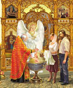 Angel – Art in Faith Christian Baptism, Christian Art, Catholic Art, Religious Art, Russian Mythology, Childrens Prayer, Faith Of Our Fathers, Church Icon, Orthodox Christianity